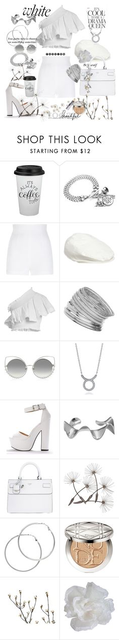 """""""White shorts..."""" by csfshawn ❤ liked on Polyvore featuring Dolce&Gabbana, Emma Watson, CECILIE Copenhagen, Miss Selfridge, Marc Jacobs, BERRICLE, Arme De L'Amour, GUESS, Melissa Odabash and Christian Dior"""