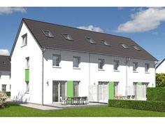 Reihenhaus Mainz 128 - #Reihenhaus von Town & Country Haus Lizenzgeber GmbH   HausXXL #Massivhaus #Energiesparhaus #klassisch #Satteldach