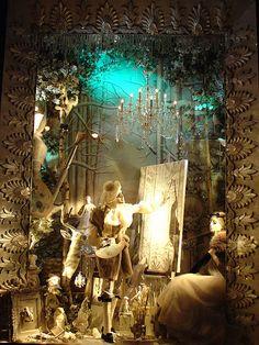 Bergdorf Goodman Christmas window