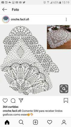 Crochet Tablecloth Pattern, Crochet Doily Diagram, Crochet Pillow Pattern, Crochet Table Runner, Crochet Doily Patterns, Crochet Mandala, Crochet Art, Crochet Round, Thread Crochet