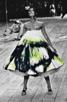Alexander McQueen İlkbahar / Yaz 1999 | Evet Moda Couture lanet