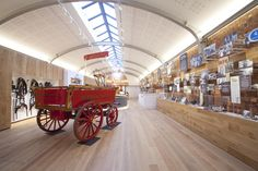 Robinsons Brewery visitor centre by Urban Salon, Stockport - UK