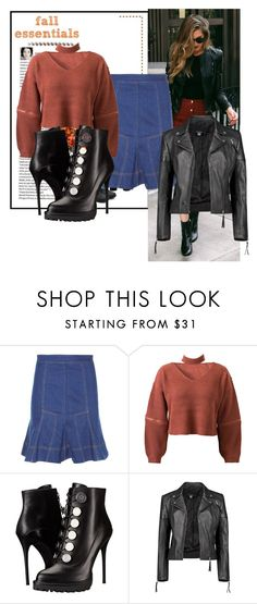 """Warm."" by triceyfashion ❤ liked on Polyvore featuring STELLA McCARTNEY, WithChic, Alexander McQueen and Boohoo"