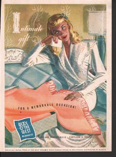 One of a series of Saturday Evening Post, Vogue, Sunset, Good Housekeeping, or Ladies Home Journal advertisements of all kinds. All have been scanned