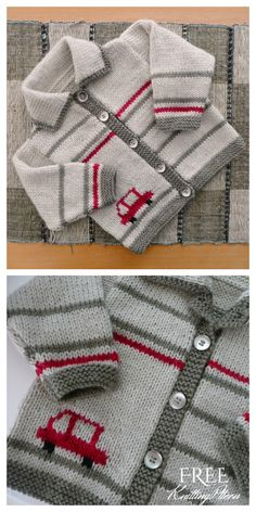 Bathurst Cardi - Free Pattern We are with you with the sought-after baby knitting models. Baby Boy Knitting Patterns Free, Baby Sweater Patterns, Baby Sweater Knitting Pattern, Knit Baby Sweaters, Knitting For Kids, Baby Patterns, Free Knitting, Baby Boy Sweater, Knitted Baby Cardigan