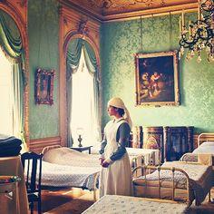 Lady Sybil in her WWI nurses's uniform. Downton Abbey.