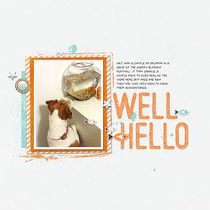 June 2016 Random Challenge at the Lilypad | Well Hello by ashleywb