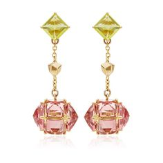 """Paolo Costagli """"Very Pc"""" Collection Peridot And Pink Tourmaline... (34 000 SEK) ❤ liked on Polyvore"""