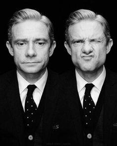 Sherlock Bbc, Jim Moriarty, Sherlock Quotes, Martin Freeman, Benedict Cumberbatch, Everett Ross, Holmes On Homes, Like A Sir, Benedict And Martin