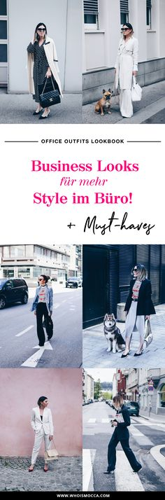Office Outfits Lookbook: 7 Business Looks für mehr Style im Büro! Büro Outfits im Herbst, Must-haves im Office, Business Casual Chic Wardrobe, Fashion Blog, Modeblog, www.whoismocca.com