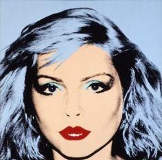 Debbie Harry as seen by Andy Warhol.