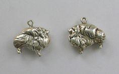 Sterling Silver Charm Pomeranian Design 3 D New | eBay