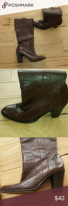 Banana Republic leather boots Banana Republic leather boots size 91/2 but feel like 9. Banana Republic Shoes Heeled Boots