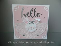 Stampin' Sacha - Stampin' Up! - Occasions Catalog 2016 - Friends & Flowers - Sale-A-Bration 2016 - Hello