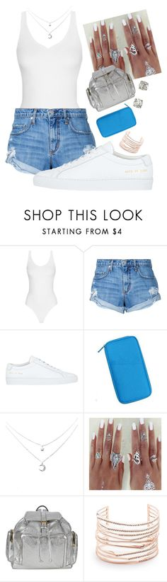 """""""Teenage Girl 2017"""" by charley-s2 ❤ liked on Polyvore featuring Nobody Denim, Common Projects, Pierre Hardy and Alexis Bittar"""
