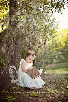 Your little princess needs to read in order to rule her kingdom (inner & outer)!