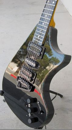 Supernatural III guitar by Neil Smith hand made from scratch NO CNC