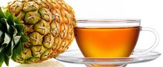 Copie a Receita de chá de abacaxi para quem quer emagrecer com saúde - Receitas Supreme