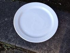 Rego Plate Restaurant ware Large Diner  C839 69 white 9 inches on Etsy, $7.00