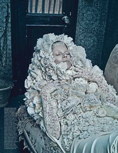 Kate Moss by Steven Klein for W Magazine - March 2012