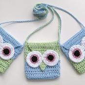 Owl Bag - via @Craftsy