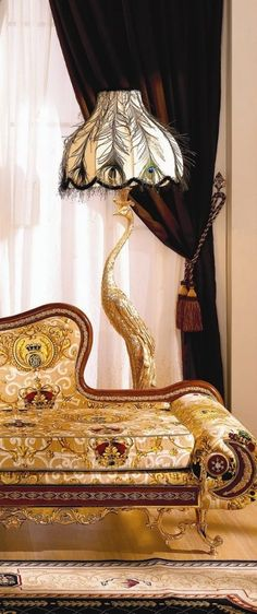 Luxury Furniture~Forget the furniture love the lamp shade