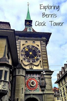 Bern, #Switzerland has an incredible clock tower, which still runs the old-fashioned way! Take a tour inside...