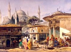jpg The post Amedeo-Preziosi-Istanbul.jpg appeared first on Architektur. Empire Ottoman, Turkish Art, Art Story, Italian Painters, Arabian Nights, Gravure, Art Plastique, Artist Art, Artist Painting