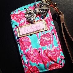 Cute Lilly wristlet