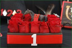 Kentucky Derby Party: Run for the Roses Centerpiece Ideas