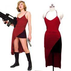 Resident Evil Alice Abernathy Cosplay Costume