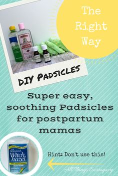 DIY Postpartum Pain Reliving Pads aka Padsicles for after you deliver your baby or surrogate baby. So easy to make and such a help! Diy Postpartum, Labor Nurse, Pregnancy Labor, Pregnancy Health, Surrogacy, Baby Makes, Tea Tree Oil, Breastfeeding, Super Easy