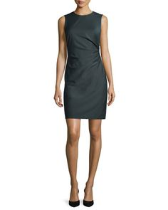 Jorianna Continuous Stretch Sheath Dress by Theory at Neiman Marcus.