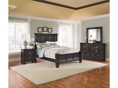 Portsmouth Panel Bed - Value City Furniture