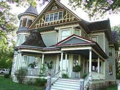 George Barber designed 1902 Mills House Osawatomie Kansas | Flickr