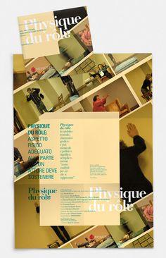 Physique du rôle progetto grafico Ligutt studio