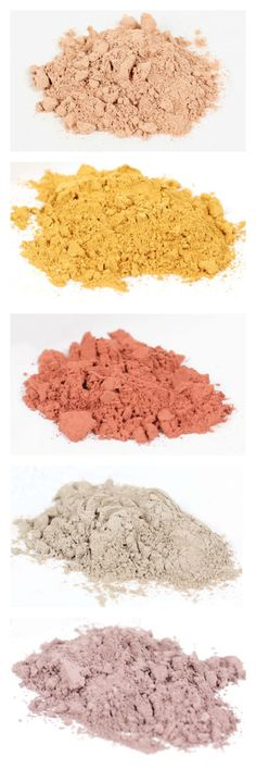 These Brazilian clays make for a great natural color in any soap, creme or scrub!