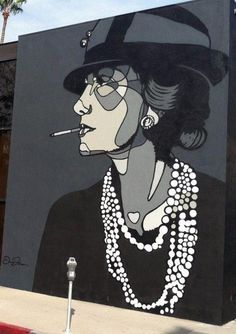 Street Art in Paris Chanel