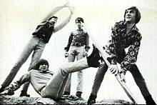 The Monkees were an American rock band that released music under its original incarnation between 1966 and 1970
