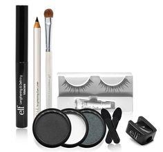 5/4/2012  $5.99  + FREE SHIPPING e.l.f. Get The Look Dramatic Eyes Set with 3 Eye Pots, Mascara, Eyeliner Pencil, Set of Eyelashes & More