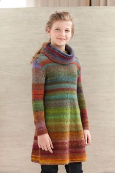 Color Stripe Tunic- free pattern