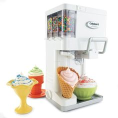 Cuisinart Soft Serve Ice Cream Machine; this could be a bad idea because then I would eat ice-cream for every meal :/