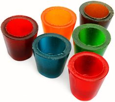 Do A Shot Then Eat The Shot Glass       I'm talking about Gummy Shot Glasses. Do as many shots as you like, and when you're done, just eat the shot glass. $15