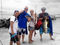 Oral doctors like spearfishing
