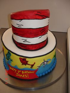 Thinking about doing Brody's 3rd  Birthday in Dr. Seuss