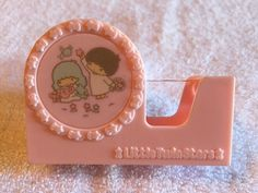 VINTAGE 1976 SANRIO LITTLE TWIN STARS TAPE CUTTER