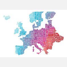 Europe Gastronomy Map