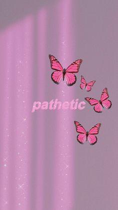 Phone Wallpaper Images, Mood Wallpaper, Cool Wallpapers For Phones, Pink Wallpaper Iphone, Iphone Background Wallpaper, Aesthetic Pastel Wallpaper, Butterfly Wallpaper, Retro Wallpaper, Aesthetic Wallpapers