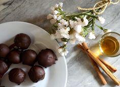Bombones de chocolate blanco y canela - Receta - Departamento de Ideas