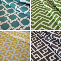 Geometric patterned fabric